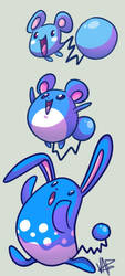 The Aqua Mouse by vaporotem