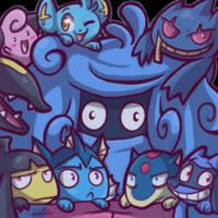 Group hug by vaporotem