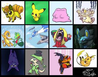 Pokemon Draw Thread 9 by vaporotem
