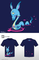In A Better Place 'T-shirt Design' by vaporotem