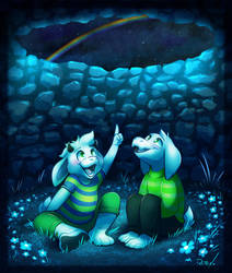 The Night Of The Moonbow by vaporotem