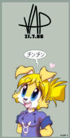 anime ID MYGOD by vaporotem