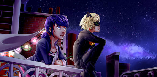 Miraculous Ladybug Screencap Redraw by Tyncelu