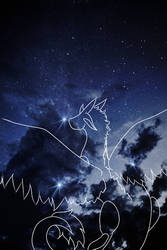 Stars light by ookamisoulreaper