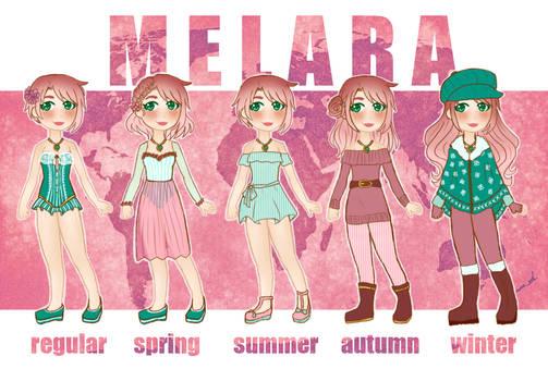 [PERSONA] melara reference by melondramatics