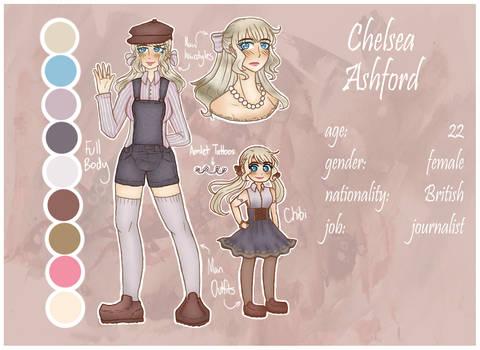 [OC] Chelsea Ashford by melondramatics