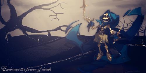 Sram. Embrace the power of death! by felipegoretti
