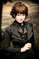 Crowley Lolita. SPN. by 8Liru-chan8