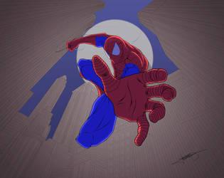 Spiderman  I got you! by Dhencod