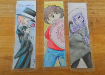 Bookmarks for sale by manga-inu-chan