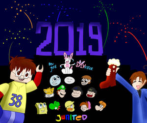 Happy New Year 2019! by Junited