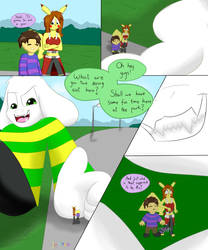 [AT] Asriel's Rough Play = Part 1 by Junited