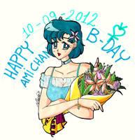 Happy B - Day Ami - chan! by IlariaSometimes