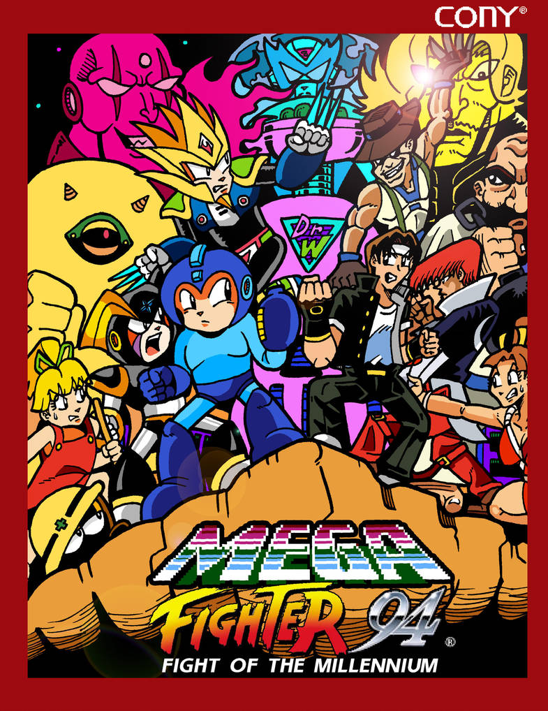 Mega Fighters 94 by darkchapel666