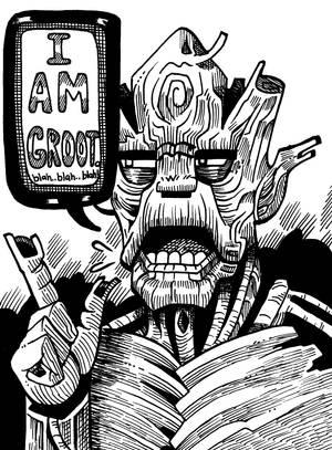 Groot Of All Evil by darkchapel666