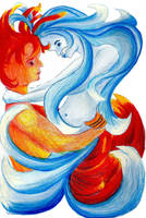 The Marriage of Fire and Water by IsMiseKate