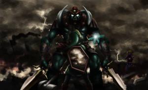 Ganon (Ocarina of Time) by Cometicon