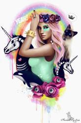 Kesha by Anna-Marine