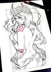 Persephone by Anna-Marine