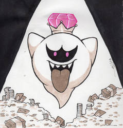 Inktober 24 - King Boo by Tarulimint