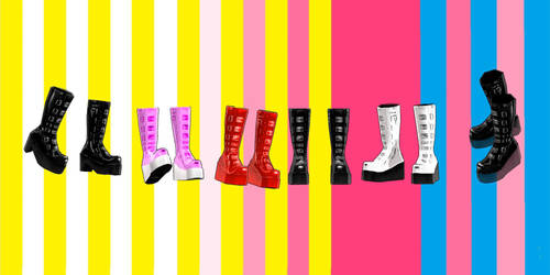 Download Punked boots by YamiSweet