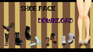 Shoes pack download by YamiSweet