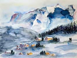 Mont-blanc by vogesen