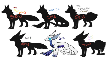 [OPEN 1/6] Themed Canine Adopts by Merciless-Killer