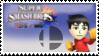 Mii Brawler Smash 4 Stamp by TheTrueMarkyboy