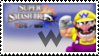 Wario (Classic) Smash 4 Stamp by TheTrueMarkyboy