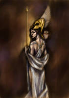 Athena . Atenea by MyBonsaiPatroclo