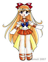 Super Sailor Venus by nemuii