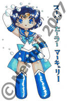 Super Sailor Mercury by nemuii