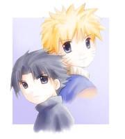 Naruto x Sasuke by seppy