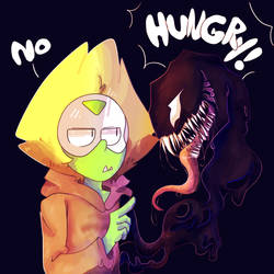 Hungry! -Venom Crossover by ZaneNidroin