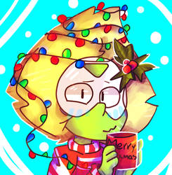 Peridot Icon/Christmas by ZaneNidroin