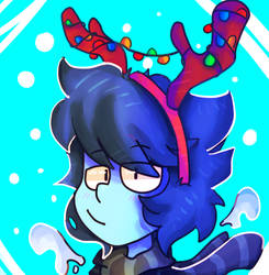 Lapis icon/Christmas by ZaneNidroin