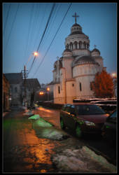 Aiud orthodox church by montterius