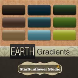 Photoshop Gradients - Earth 1 by starsunflowerstudio