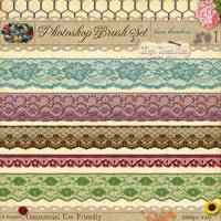 Lace Borders No. 1 by starsunflowerstudio