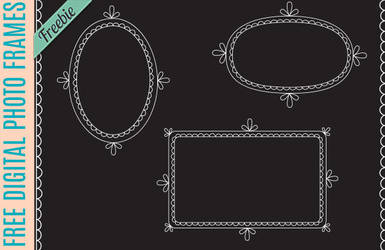Free Doodle Frames Brushes and Custom Shapes by starsunflowerstudio