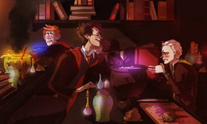 Potions Class by noodlerface