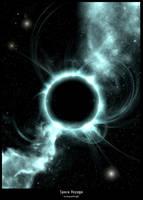 Space Voyage - Black Hole by galaxyclub