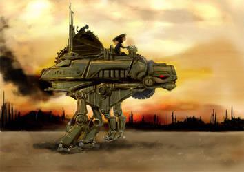 desert transporter by Jmoneydadoobiest
