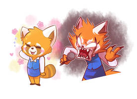 Aggretsuko by I-Am-Not-A-Muffin
