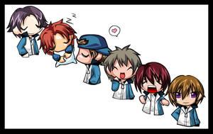 Hyotei group pic by m4kimaki