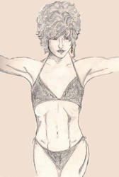 Lysa Lyon torso by RosesofBlue2008