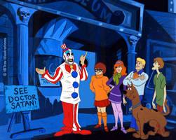 Scooby-Doo and the Creepy Clown Caper by ibtrav