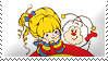Rainbow Brite Stamp by ShipwreckedStamps
