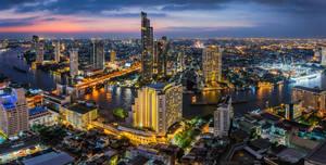 .:Bangkok Blue Hour:. by RHCheng